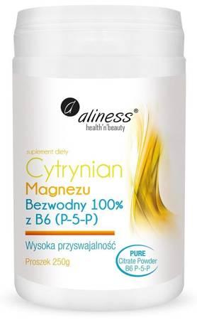 Aliness Cytrynian Magnezu + Witamina B6 (P-5-P) 250 g proszek