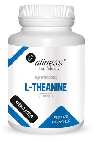 Aliness L-Teanina 200 mg 100 kapsułek vege