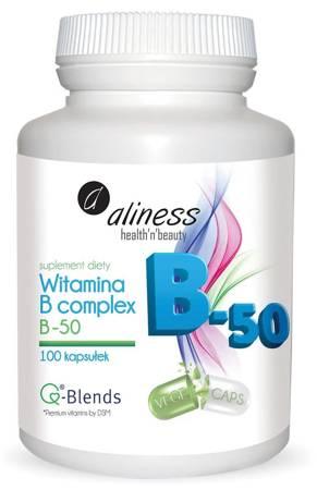 Aliness Witamina B Complex B-50 100 kapsułek vege