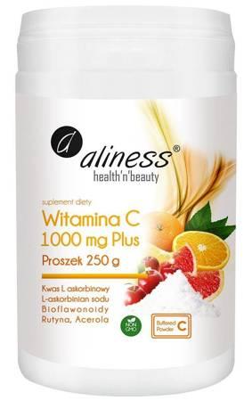 Aliness Witamina C 1000 mg Buforowana Plus 250 g proszek