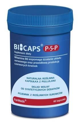 ForMeds BiCaps Witamina B6 (P-5-P) 25 mg 60 kapsułek
