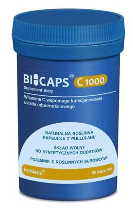 ForMeds BiCaps Witamina C 1000 mg 60 kapsułek