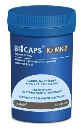 ForMeds BiCaps Witamina K2 MK-7 200 mcg 60 kapsułek