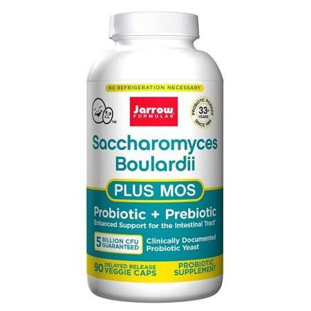Jarrow Formulas Saccharomyces Boulardii + MOS 90 vege kapsułek