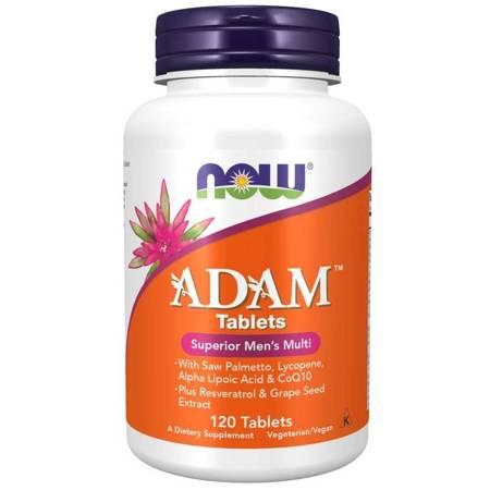 Now Foods Adam Tablets (Multiwitamina i Minerały) 120 tabletek