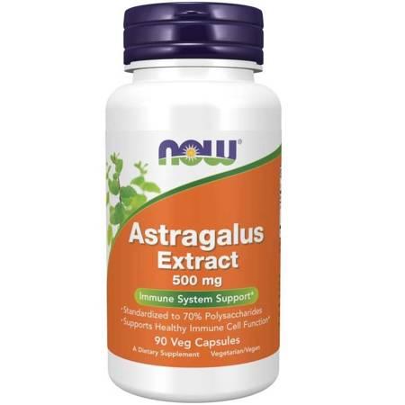 Now Foods Astragalus Extract 500 mg 90 kapsułek