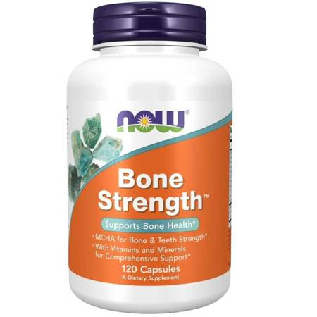 Now Foods Bone Strength 120 kapsułek