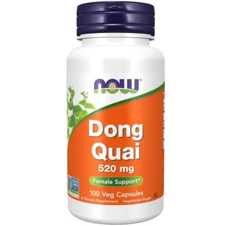 Now Foods Dzięgiel Chiński (Dong Quai) 520 mg 100 kapsułek