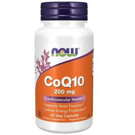 Now Foods Koenzym Q10 200 mg 60 kapsułek