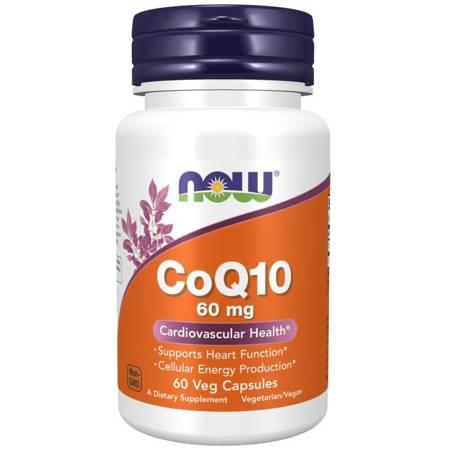 Now Foods Koenzym Q10 60 mg 60 kapsułek
