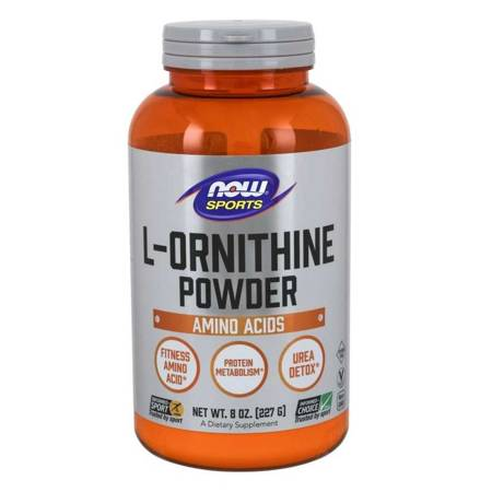Now Foods L-Ornityna Puder 227 g