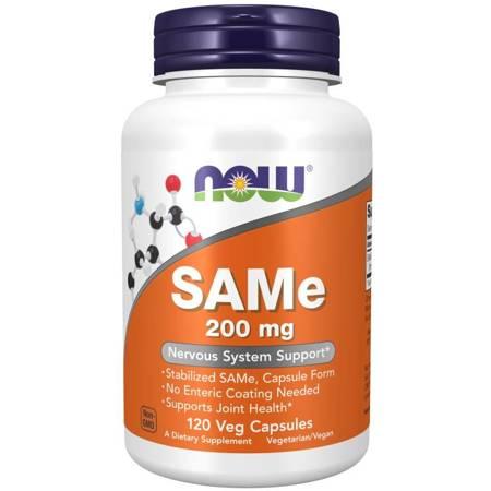 Now Foods SAMe 200 mg 120 kapsułek