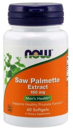 Now Foods Saw Palmetto Extract 160 mg 60 kapsułek