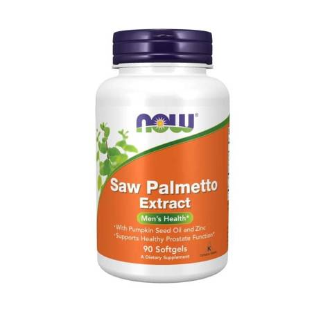 Now Foods Saw Palmetto Extract 90 kapsułek