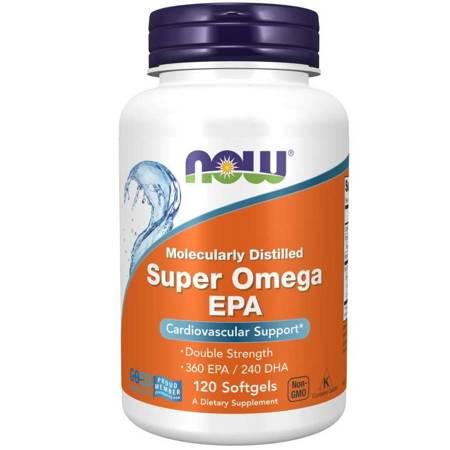 Now Foods Super Omega EPA 120 kapsułek