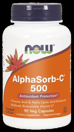 Now Foods Witamina C 500 mg AlphaSorb-C 90 veg kapsułek
