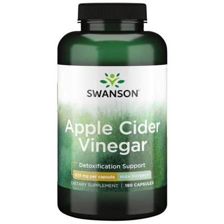 Swanson Apple Cider Vinegar (Ocet jabłkowy) 625 mg 180 kapsułek