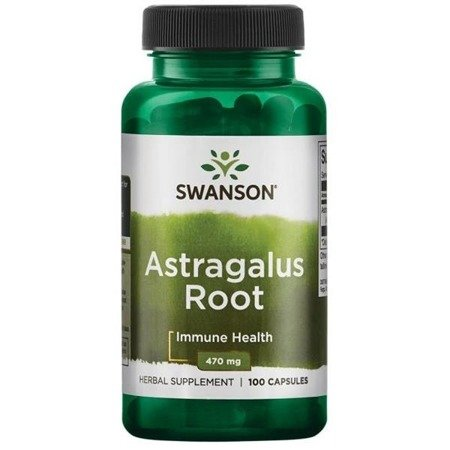 Swanson Astragalus 470 mg 100 kapsułek