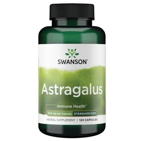 Swanson Astragalus Extract 500 mg 120 kapsułek