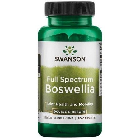 Swanson Boswellia Double Strenght 800 mg 60 kapsułek