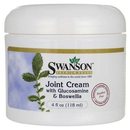 Swanson Joint Cream z Glucozaminą i Boswellią 118 ml krem