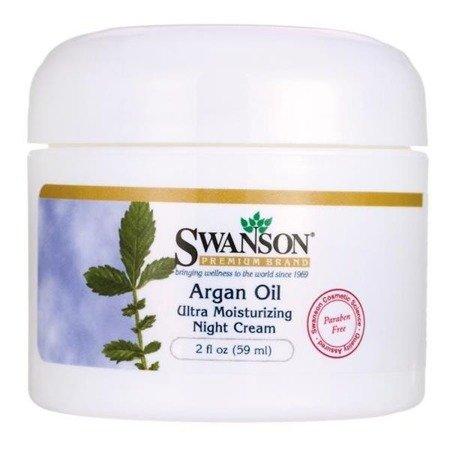 Swanson Krem z Olejkiem Arganowym 59 ml