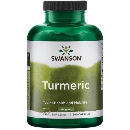 Swanson Kurkuma (Turmeric) 720 mg 240 kapsułek