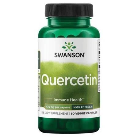 Swanson Kwercetyna (Quercetin) 475 mg 60 kapsułek