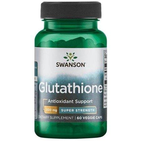 Swanson L-Glutation 200 mg 60 kapsułek