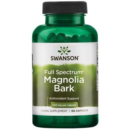 Swanson Magnolia Lekarska 400 mg 60 kapsułek