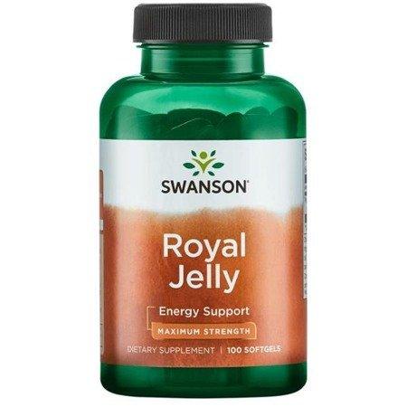 Swanson Mleczko Pszczele (Royal Jelly) 100 kapsułek