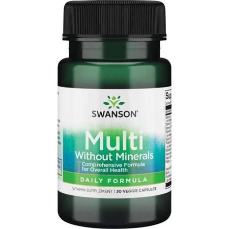 Swanson Multiwitamina (Daily Multi-Vitamin) 30 kapsułek