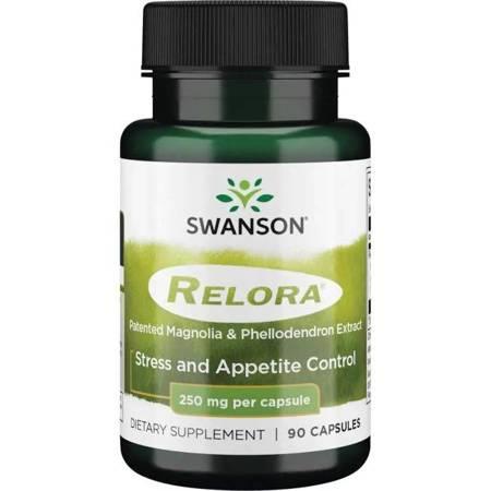 Swanson Relora 250 mg 90 kapsułek