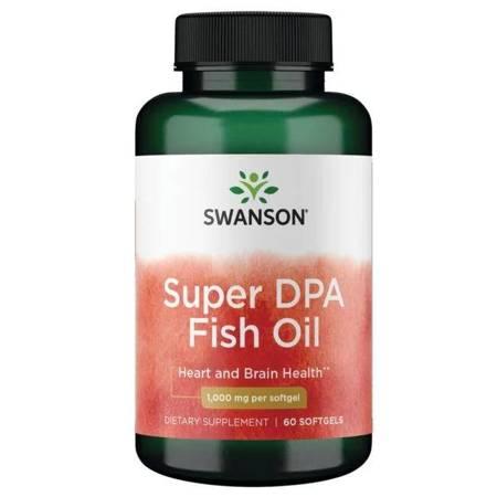 Swanson Super DPA Fish Oil 60 kapsułek