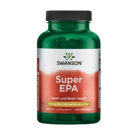Swanson Super EPA Omega 3 100 kapsułek