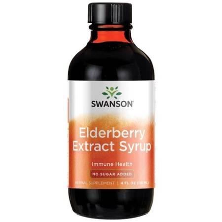 Swanson Syrop z Czarnego Bzu Extract 118 ml